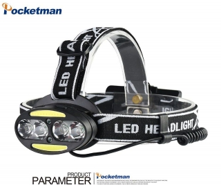 Čelovka Pocketman 8x LED 4.000 lumen